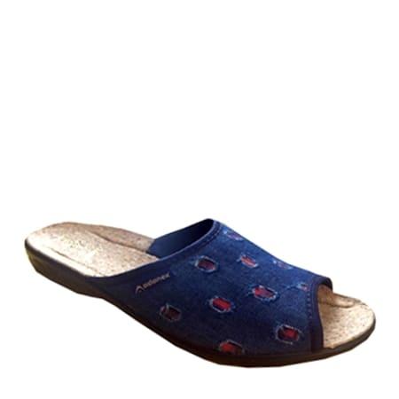 обувь женская тапки ADANEX 22805 СКИДКА -10%