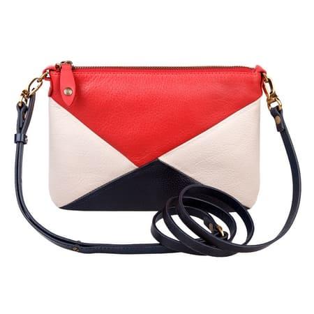 сумка женская ALEXANDER-TS KB003 red blue цена 3420