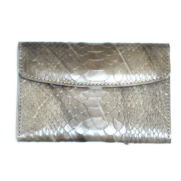 кошелёк ALEXANDER-TS KH002-Beige-Piton цена 2812 руб.