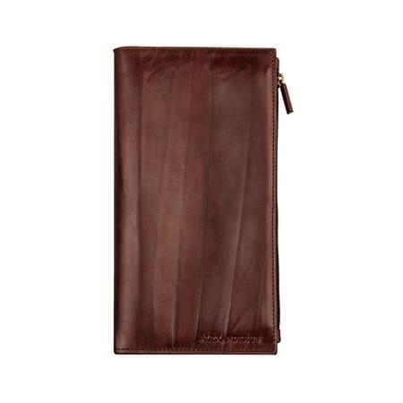 кошелёк ALEXANDER-TS PR003 Cognac цена 3483