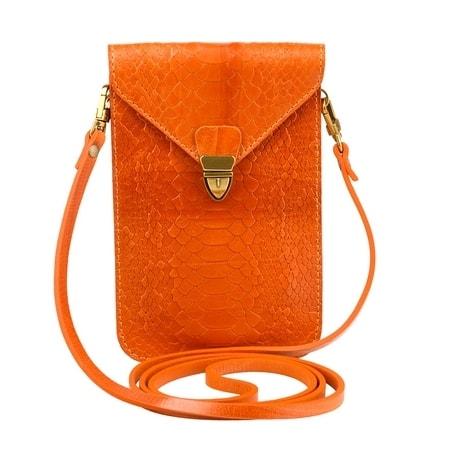 сумка женская ALEXANDER-TS SW10-Orange-Piton1 цена 2227 руб.