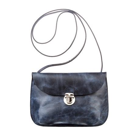 сумка женская ALEXANDER-TS W0017-Blue цена 2700 руб.