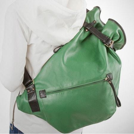сумка женская ALEXANDER-TS R0003 green СКИДКА -10%