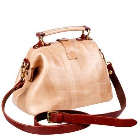 сумка женская ALEXANDER-TS W013 beige brown цена 6840