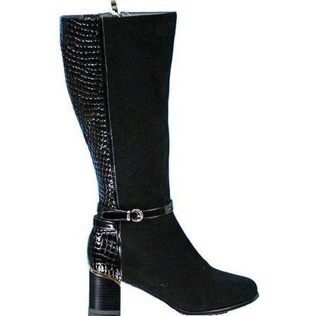 обувь женская сапоги ASCALINI C10250BK СКИДКА -30%