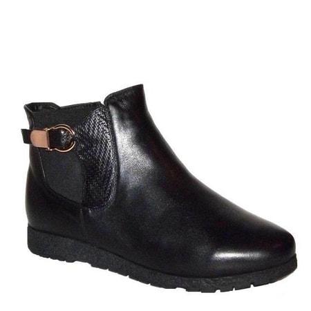 обувь женская ботинки ASCALINI DZ11979BK СКИДКА -40%