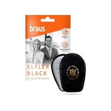 подпяточники BRAUS ELFLEX-BLACK-B961 цена 180 руб.
