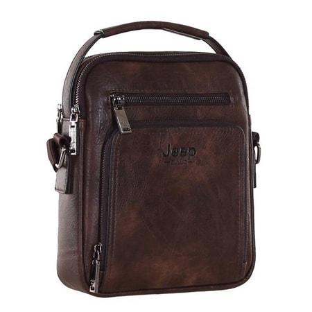 сумка мужская D-S 2103 brown цена 1629