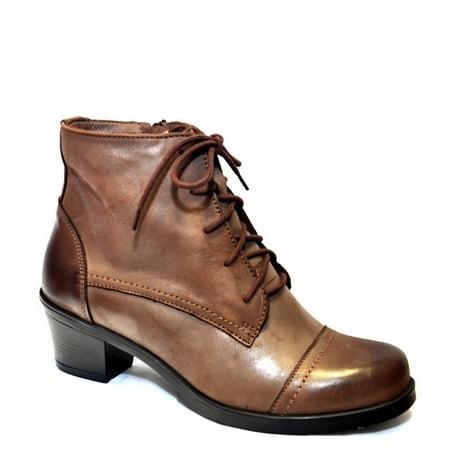обувь женская ботинки EVALLI 674-325 СКИДКА -10%