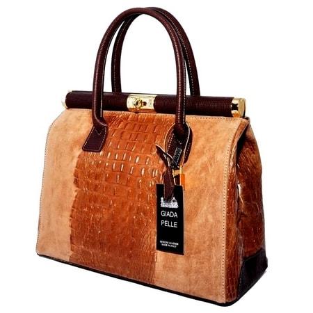 сумка женская GENUINE-LEATHER 1-176 цена 8370 руб.