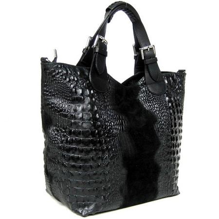 сумка женская GENUINE-LEATHER 4360 цена 9171
