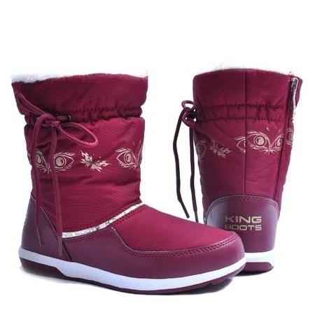 обувь женская дутики KING BOOTS KB333MS СКИДКА -40%