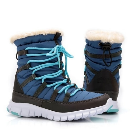обувь женская дутики KING BOOTS KB433BL СКИДКА -40%