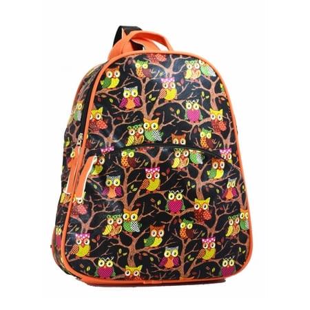 сумка женская MISS-BAG Флоренция-Совушки-коричневый цена 1512 руб.