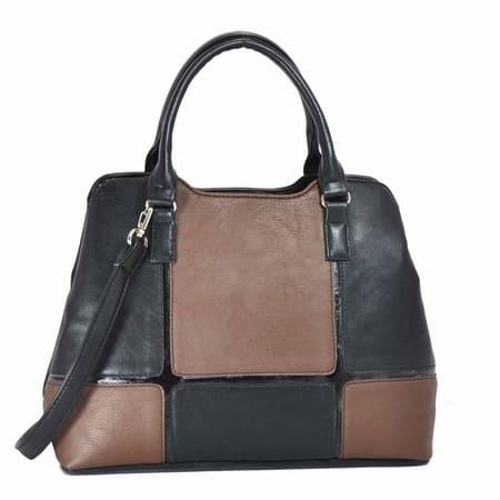 96494c5cacad сумка женская MISS-BAG Маниока черно коричневый цена 1890 руб.