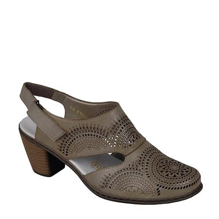 туфли открытые RIEKER 40973-62 цена 3080 руб.