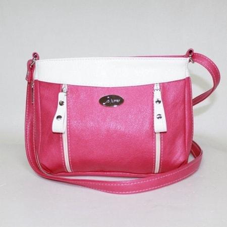 сумка женская САЛОМЕЯ 105-ярко-розовый цена 1492 руб.