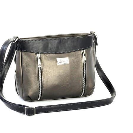 сумка женская САЛОМЕЯ 142-бронза+черный цена 1672 руб.
