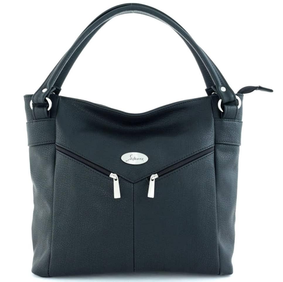сумка женская САЛОМЕЯ 300-черный цена 1832