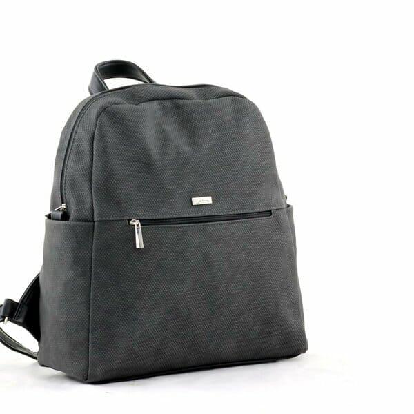 сумка женская SALOMEA 353-flok-grey-black цена 2655 руб.