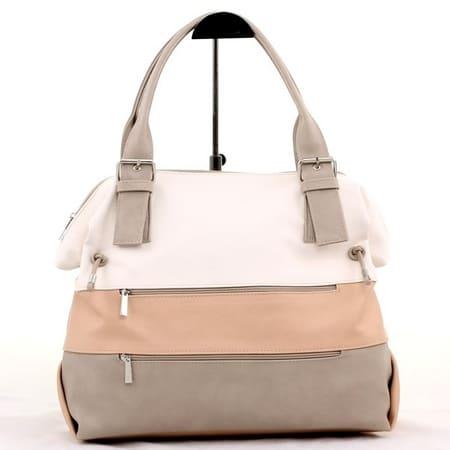 сумка женская САЛОМЕЯ 541-мульти-кремовый цена 2032 руб.