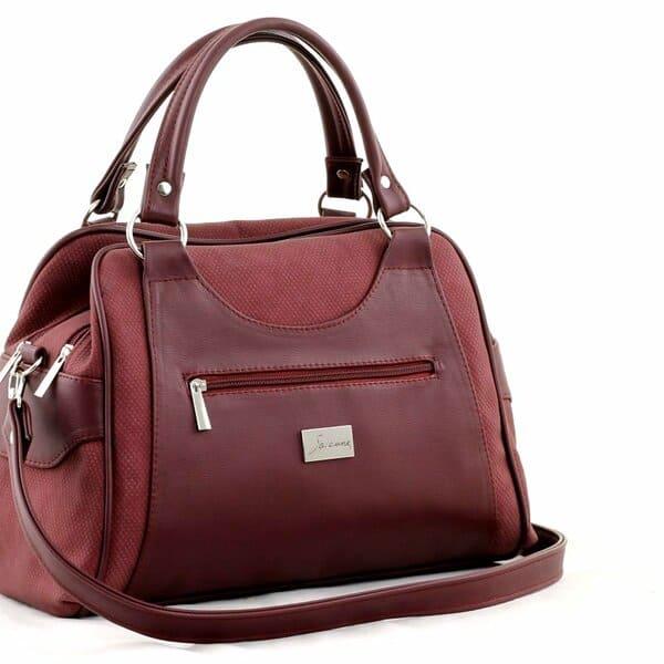 сумка женская SALOMEA 989-flok-bordo цена 2637 руб.