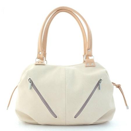 сумка женская САЛОМЕЯ 165 беж+кремовый цена 1837 руб.