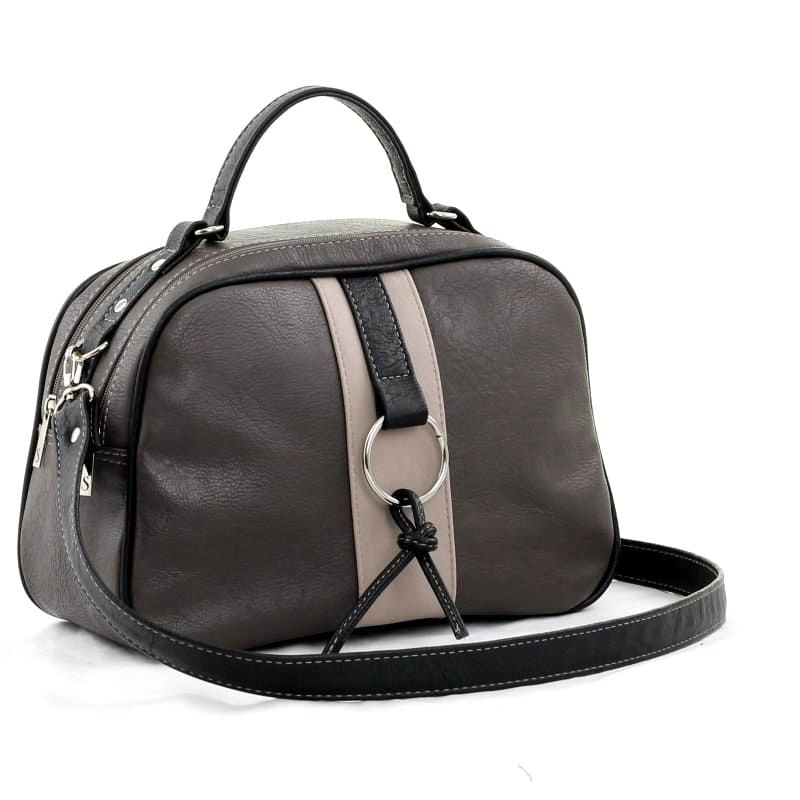 сумка женская SALOMEA 550-multi-kofe+chernyjj цена 2709 руб.