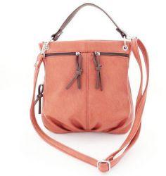 сумка SALOMEA 711-terrakot сумка женская в интернет магазине DESSA