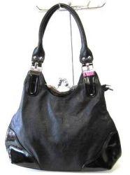 сумка LORETTA 6640-chernyi-lak сумка женская в интернет магазине DESSA