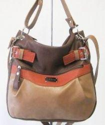 сумка SALOMEA 102-multi-terrakot-shokolad сумка женская в интернет магазине DESSA