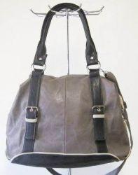 сумка SALOMEA 123-multi-cherno-seryi сумка женская в интернет магазине DESSA