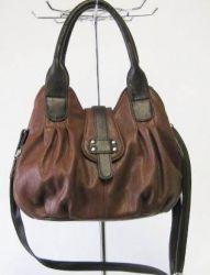 сумка SALOMEA 882-koniak-shokolad сумка женская в интернет магазине DESSA