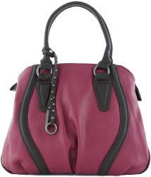сумка LORETTA 1466-vishnia-shokolad сумка женская в интернет магазине DESSA
