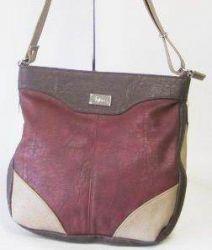 сумка SALOMEA 100-multi-shokolad-bordo сумка женская в интернет магазине DESSA
