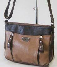 сумка SALOMEA 105-multi-shokolad сумка женская в интернет магазине DESSA