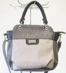 сумка SALOMEA 976-sero-chernyi сумка женская в интернет магазине DESSA