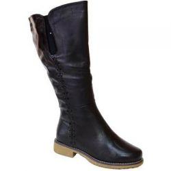 сапоги ASCALINI CZ11972BK обувь женская в интернет магазине DESSA
