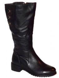 сапоги ASCALINI CZ10975BK обувь женская в интернет магазине DESSA