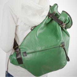 рюкзак ALEXANDER-TS R0003-green сумка женская в интернет магазине DESSA