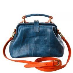 саквояж ALEXANDER-TS W0013-awuamarine сумка женская в интернет магазине DESSA