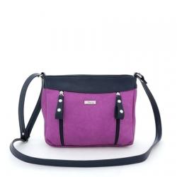 сумка SALOMEA 105-purpurnyi-sinii сумка женская в интернет магазине DESSA