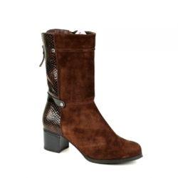 полусапоги ROMAX M163315-10B обувь женская в интернет магазине DESSA