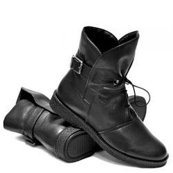 ботинки ASCALINI R5072-BLACK обувь женская в интернет магазине DESSA