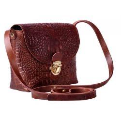 клатч ALEXANDER-TS KB001-BrownKayman сумка женская в интернет магазине DESSA