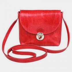 клатч ALEXANDER-TS KB001-Red-Gold сумка женская в интернет магазине DESSA