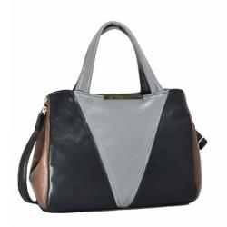 сумка MISS-BAG Mildred-cherno-seryi сумка женская в интернет магазине DESSA
