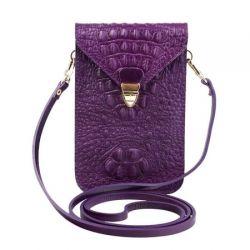 клатч ALEXANDER-TS SW10-Violet-Kayman1 сумка женская в интернет магазине DESSA