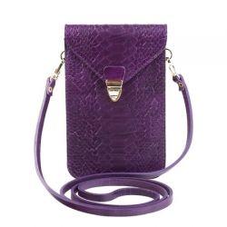 клатч ALEXANDER-TS SW10-Violet-Piton сумка женская в интернет магазине DESSA