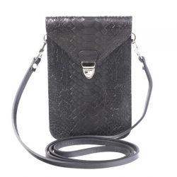клатч ALEXANDER-TS SW10-Black-Piton сумка женская в интернет магазине DESSA